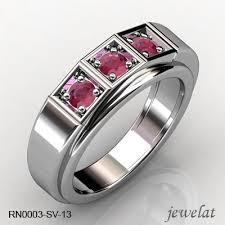 gemstone rings silver images Silver ring with gemstones useful information from jewelat jpg