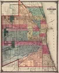 Bucktown Chicago Map by Map U2013 Chicago U2013 Business District U2013 Aerial U2013 Early 1900s Chicago