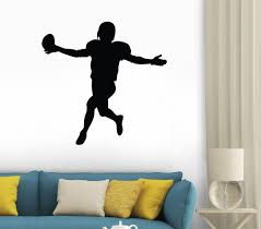wallmonkeys wm79230 football silhouette peel and stick wall decals wallmonkeys wm79230 football silhouette peel and stick wall decals 12 in w x 12 in h wall decor stickers amazon com