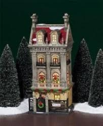 department 56 in the city harrison house