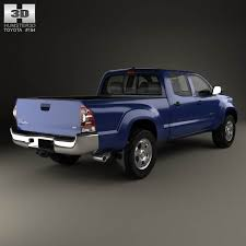 Toyota Tacoma Double Cab Long Bed Toyota Tacoma Double Cab Long Bed 2012 3d Model For Download In