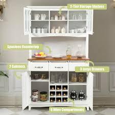 kitchen storage cabinets buffet and hutch kitchen storage cabinet hw64504