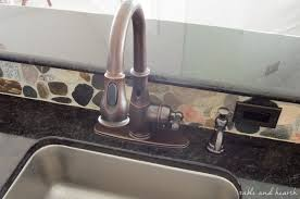 a stylish and hands free kitchen faucet t u0026h kitchen