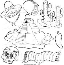 royalty free stock skull designs of coloring sheets