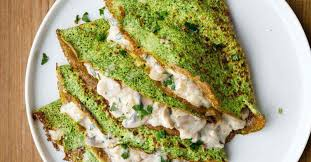 cuisine crepe spinach crepes with filling paleo grubs