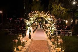 gold wedding theme fairy tale winter wedding with white gold décor in beverly