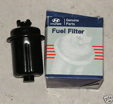 hyundai accent fuel filter hyundai genuine oem fuel filters ebay