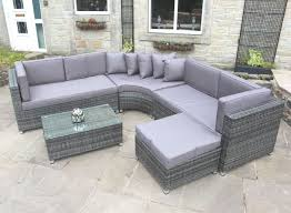 curved outdoor sofa set 28 images modern wicker sectional