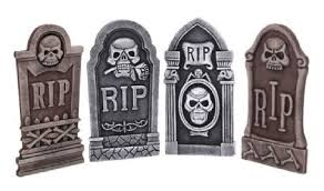 tombstone decorations 4 set gravestone and tombstone decoarations quickdraw