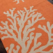 Patio Outdoor Rugs by Jaipur Rugs Grant Bough Out 8 X 8 Indoor Outdoor Rug Orange