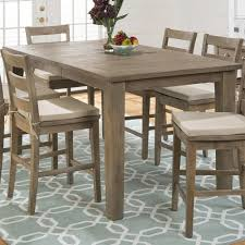 Pine Dining Room Sets Amazon Com Jofran Slater Mill Pine Wood Counter Height Dining