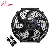 10 inch radiator fan universal 12v 80w 10 inch slim reversible electric radiator