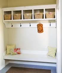 mudroom organizer ana white build a large custom mudroom organizer with cubbies and