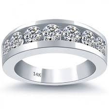 mens diamond wedding band 48 best men s wedding bands images on mens diamond
