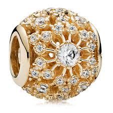 bracelet pandora gold images Pandora 14kt gold charms