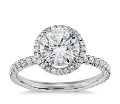 diamond ring blue nile studio heiress halo diamond engagement ring in platinum