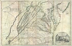 Va County Map Maps Of Old Virginia And Jefferson County West Virginia