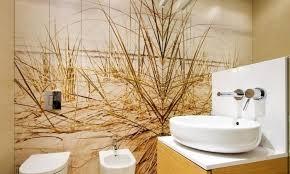 Wallpaper Ideas For Small Bathroom Bathroom Wallpaper Ingenious Design Ideas Ideas For Interior