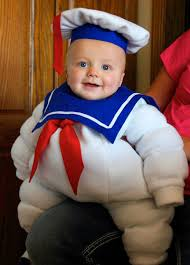 stay puft marshmallow man halloween costume the 26 most adorable halloween costumes for babies fascinately