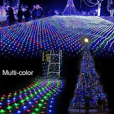christmasabulous blue led lights with white cordc6