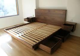 modern bed frame canada contemporary modern full bed design