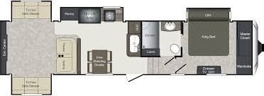 Keystone Floor Plans by 2017 Keystone Laredo 342rd Model