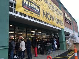 grand opening see the new fairway market in georgetown bklyner