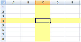 highlighting the active row and column u2013 bacon bits