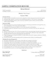 good objective for customer service resume resume examples for bakery manager frizzigame cover letter good customer service resume examples good resume
