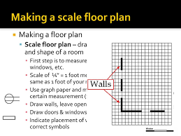 floor plan scale making a scale floor plan ppt download