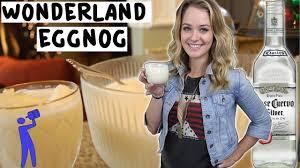 How To Make Southern Comfort Eggnog How To Make Tequila Wonderland Eggnog Tipsy Bartender Youtube