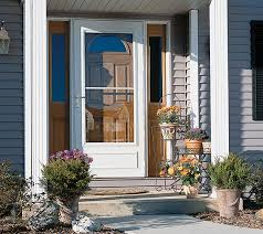 storm door with screen and glass pella storm doors rolscreen seasonal standard storm doors