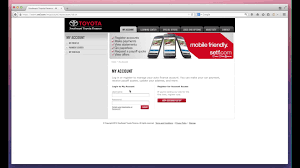 website toyota southeast toyota finance bill payment guide mybillcom com youtube