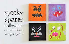 crafting with kids spooky spaces halloween art imagine gnats