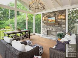 screen porch screened porch with fireplace inspiring screen