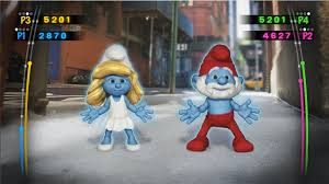 amazon smurfs dance party nintendo wii video games