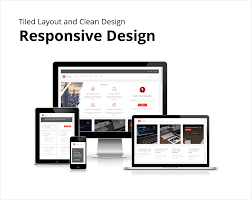 responsive design template acamar tiled layout and clean design responsive html template by