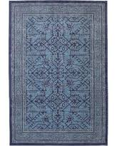 Blue Area Rugs 8 X 10 Amazing Deal On Mohawk Home Cascade Heights Parquet Indigo Area