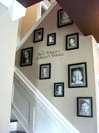Stairwell Decor Idea Awesome Stairway Wall Decorating Ideas Ideas