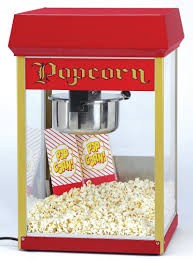 popcorn machine rental tabletop popcorn machine arrow paper party rental
