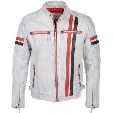 white motorcycle jacket mens leather biker jacket white berlin mens leather jackets