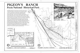 New Mexico State Map by File Cover Sheet And Map Alexandre Pigeon Ranch New Mexico