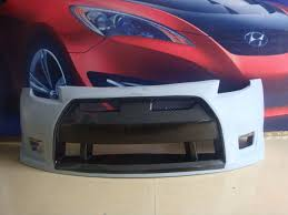 custom black nissan 350z nissan 350z front bumpers body kit super store ground effects