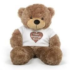 personalized graduation teddy big chubs personalized mocha brown graduation teddy 38in