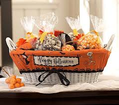 halloween treat basket liner pottery barn kids