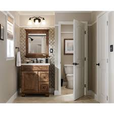 Traditional Bathroom Vanities Shop Diamond Ballantyne Mocha With Ebony Glaze Traditional Birch