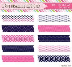 washi tape designs erin bradley designs new cute bugs digital papers bunting