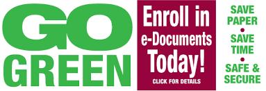 design logo go green safe 1 credit union about safe 1