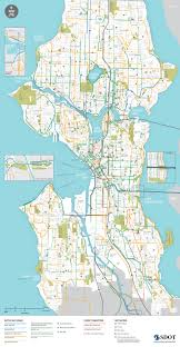 Seattle Metro Bus Routes Map by Seattle U0027s 2015 Bike Map Gets A Makeover How It Could Be Even