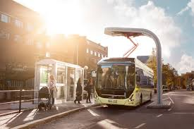 volvo corporate volvo 7900 electric charging at bus stop 1 volvo